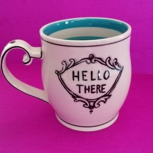 Anthropologie Molly Hatch Hello There Mug